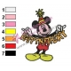 Mickey Mouse Cartoon Embroidery 72